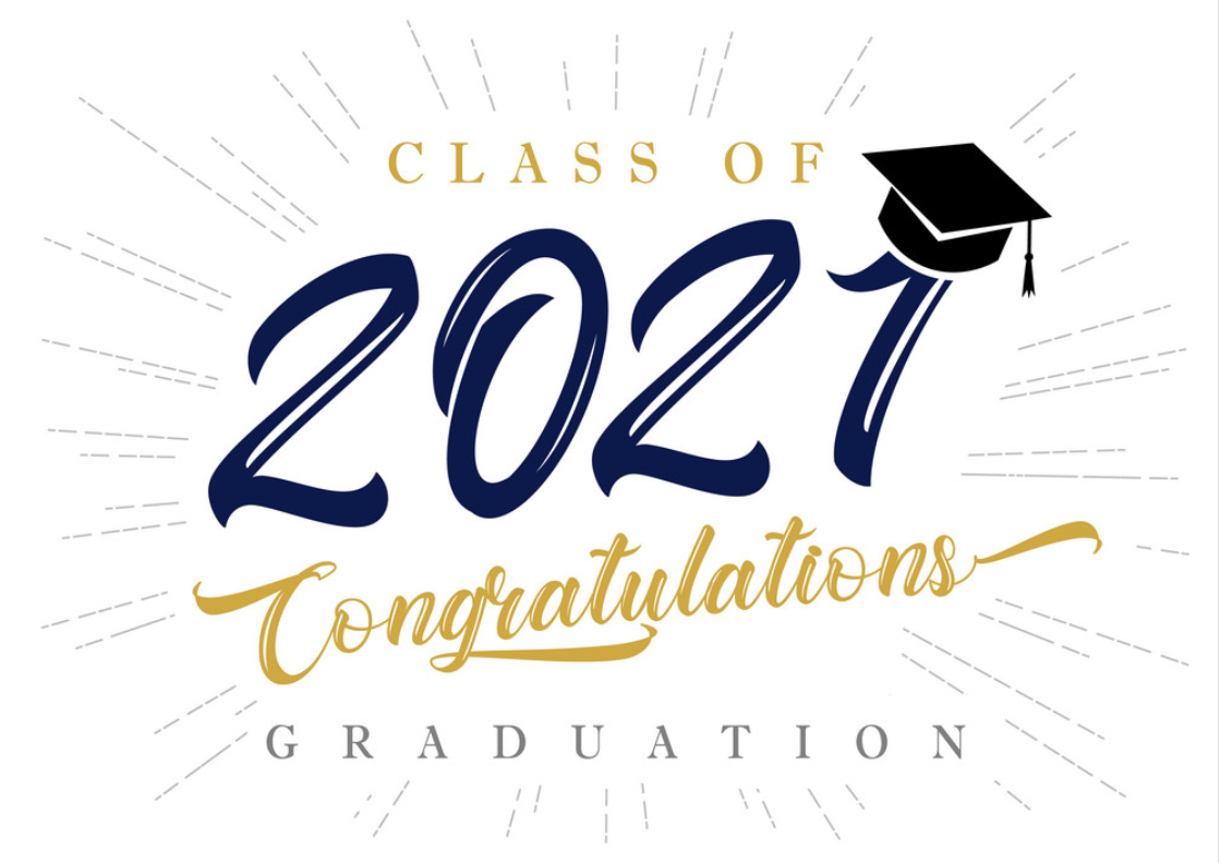 Click here to watch the the Class of 2021 robing and graduation ceremony!