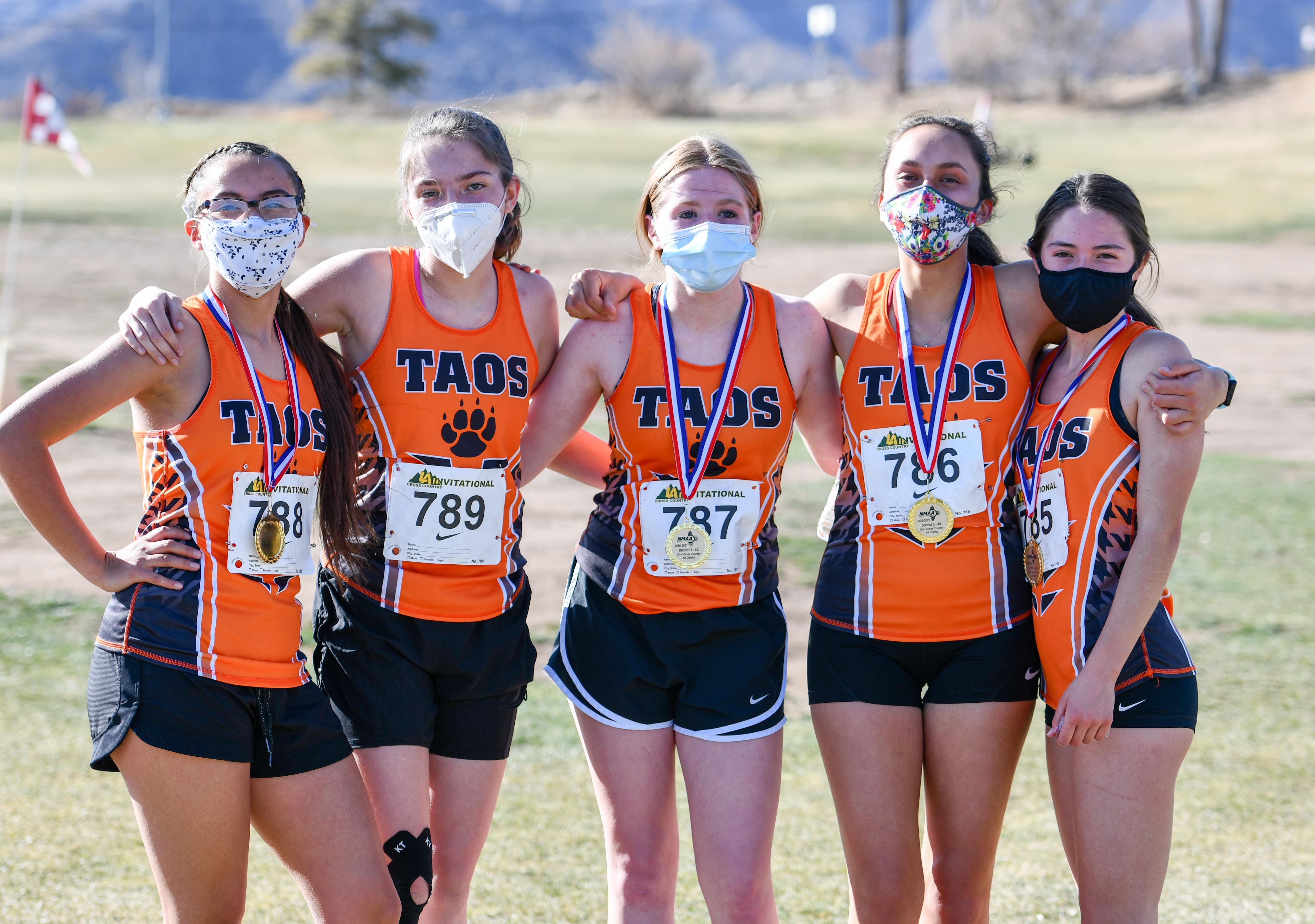 Taos Cross Country Team