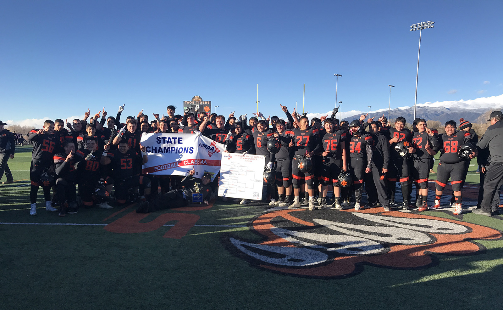 2018 State Champion Taos Tiger